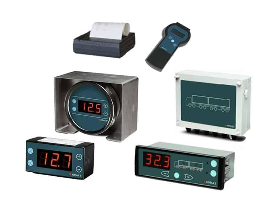 Kimax onboard truck scales portfolio
