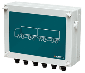 Kimax 2 sensor box for onboard weighing trailers